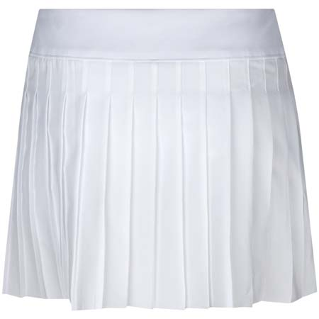 Screenshot from lesson titled - Lacoste Pleated White Skort
